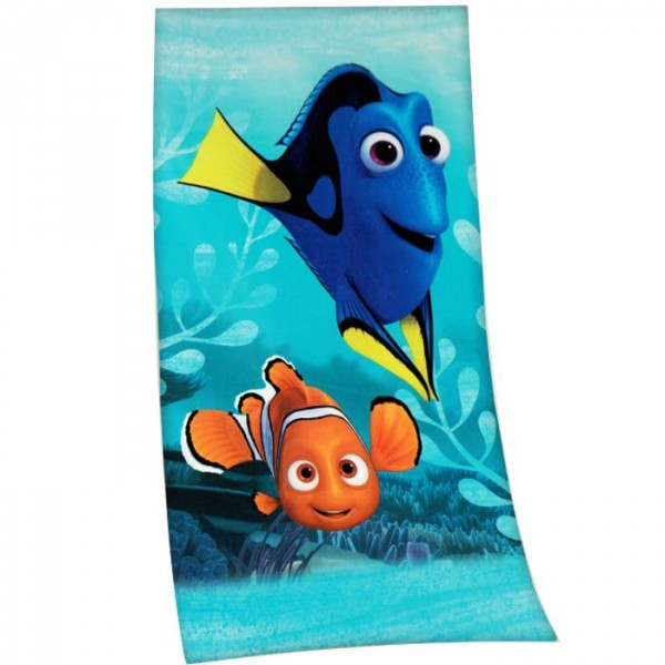 serviette de plage dory de disney pixar drap de plage pour enfant cavacado. Black Bedroom Furniture Sets. Home Design Ideas