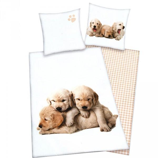 Housse de couette petits chiens pour lits 1 personne - Housse de couette 2 personnes enfant ...