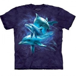 Tee shirt enfant Dauphin - Dolphin Collage