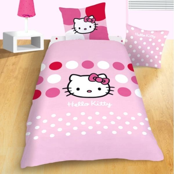 parure de lit enfant hello kitty sophie cavacado. Black Bedroom Furniture Sets. Home Design Ideas