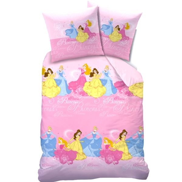 parure de lit enfant princesses disney cavacado. Black Bedroom Furniture Sets. Home Design Ideas