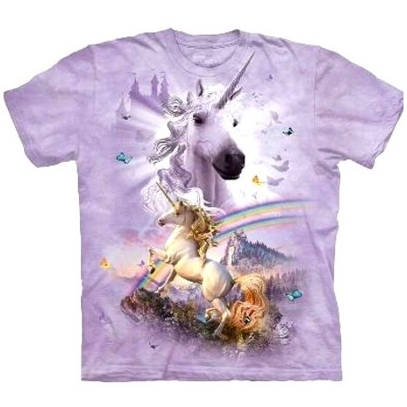 tee shirt licorne pour enfant t shirt double rainbow cavacado. Black Bedroom Furniture Sets. Home Design Ideas
