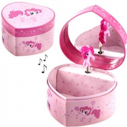 Boite à bijoux musicale My little pony
