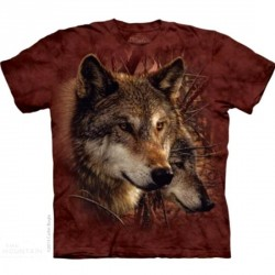 Tee shirt enfant Loup - Forest Wolf