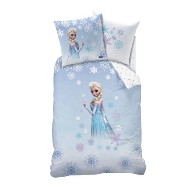 parure de drap reine des neiges parure de lit enfant la reine des neiges frozen cristal et drap. Black Bedroom Furniture Sets. Home Design Ideas