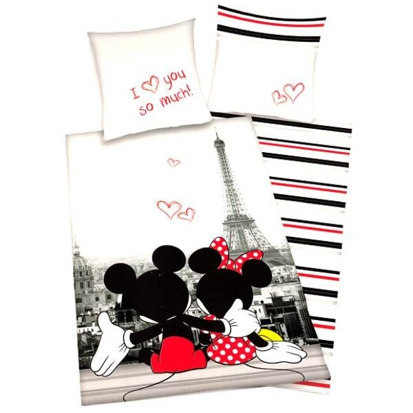 parure de lit pour enfant avec minnie mouse de disney cavacado. Black Bedroom Furniture Sets. Home Design Ideas