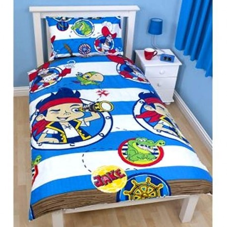 housse de couette enfant jake le pirate pour lit 1. Black Bedroom Furniture Sets. Home Design Ideas