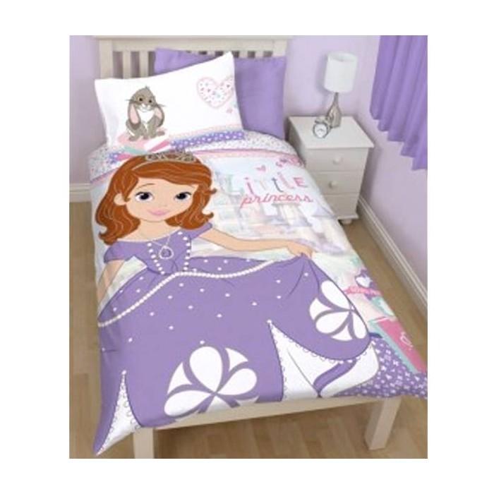 parure de lit enfant princesses de disney cavacado. Black Bedroom Furniture Sets. Home Design Ideas
