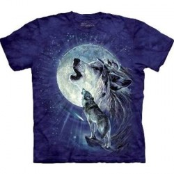 Tee shirt enfant Loup - Full Moon Gravity