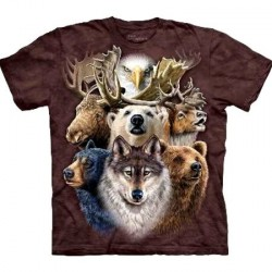 Tee shirt Animaux - Northern Wildlife collage