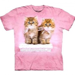Tee shirt enfant Chats - Pretty Kitten - 6/8 ans