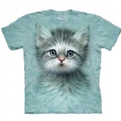 Tee shirt  Chat - Blue Eyed Kitten