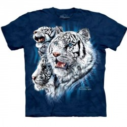 Tee shirt Tigre - Find 9 White Tigers