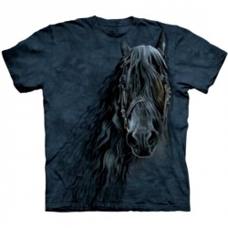 Tee shirt Cheval - Frison