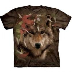 Tee shirt Loup - Autumn Encounter