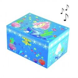 Boite à bijoux musicale Petite Sirène
