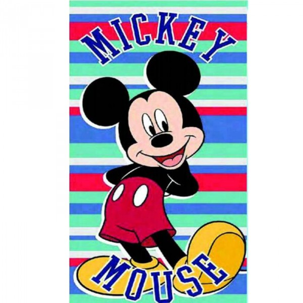 serviette de plage mickey pour enfants cavacado. Black Bedroom Furniture Sets. Home Design Ideas