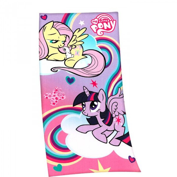 serviette de plage motif cheval pour enfant my little pony. Black Bedroom Furniture Sets. Home Design Ideas