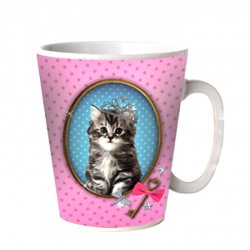 Mug Chat Pretty Kitten