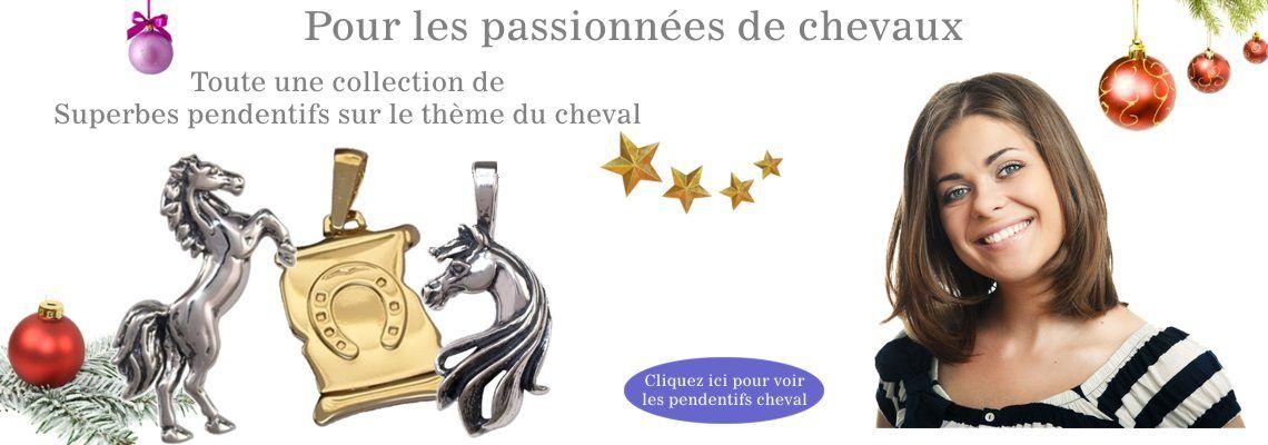 Bijoux cheval, une belle collection pour les passionnées de chevaux.