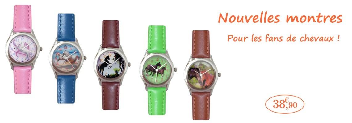 Nouvelles montres cheval chez Cavacado