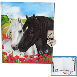 Journal intime Cheval Miss Mélody Coquelicots