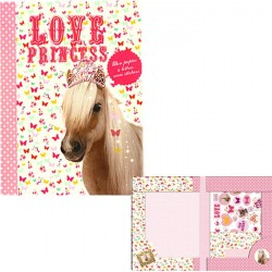 Set Papier à lettres Cheval - Poney Princesse