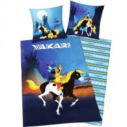 Housse de couette Yakari au Clair de Lune
