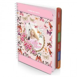 Cahier de Textes Bella Sara pink