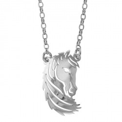 Collier Cheval argent