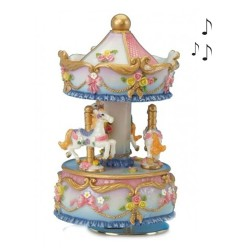 Carrousel musical Chevaux