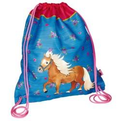 Sac de sport Pony Farm bleu