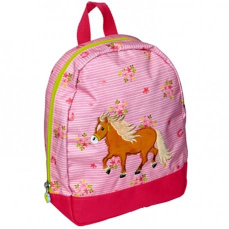 Sac à dos Pony Farm rose