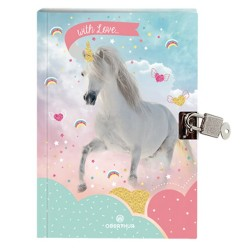 Journal intime Licorne Love