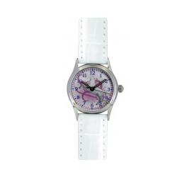 Montre Cheval Blanc bracelet blanc