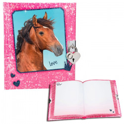 Journal intime motif Cheval  Horses Dream