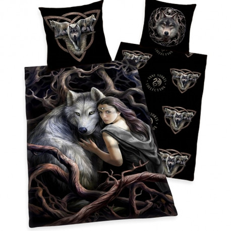 Housse de couette Loups