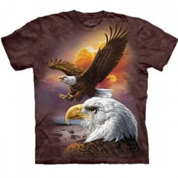 Tee shirt Aigles majestueux