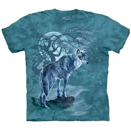 Tee shirt Loup pleine lune