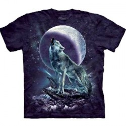 Tee shirt Loup solitaire - Taille XL