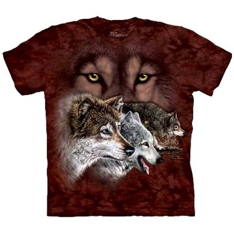 Tee shirt 9 Loups