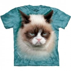 Tee shirt enfant Chat Grumpy - Taille 13/14 ans