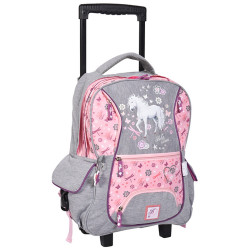Sac à roulettes - cartable Cheval Dream
