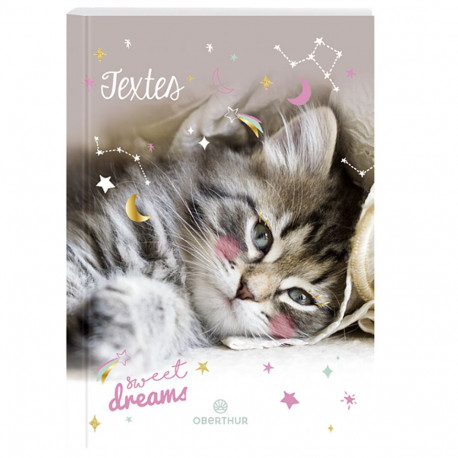 Cahier de textes Chat Dreams