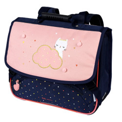 Cartable Chaton blanc 38 cm