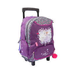 Sac à roulettes - Cartable Cheval Bella Sara Majestic