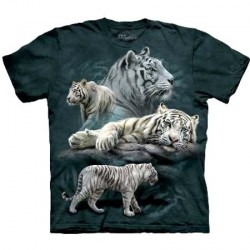 Tee shirt Tigres blancs - taille S