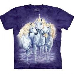 Tee shirt enfant 10 Licornes - 6/8 ans