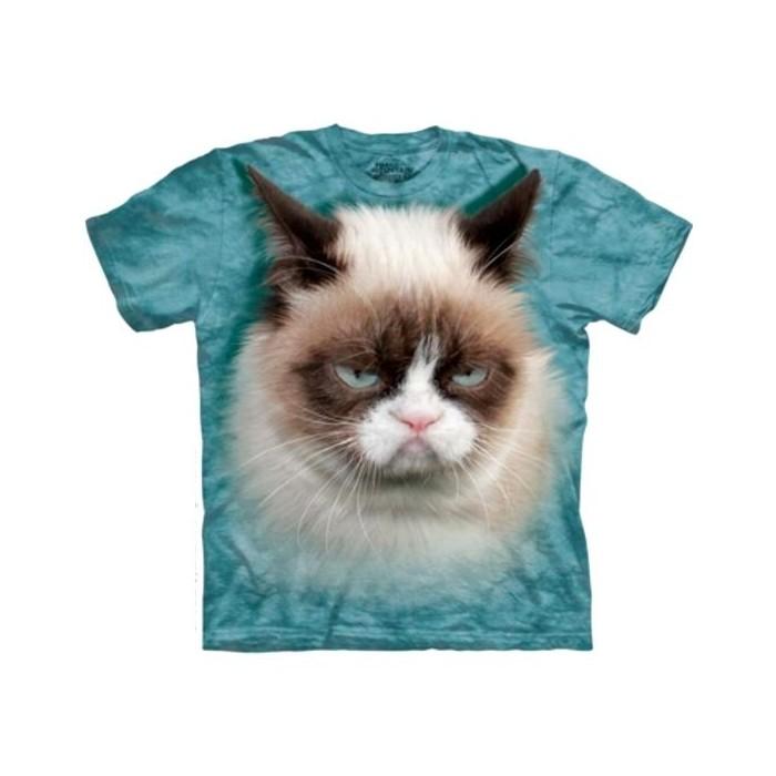 tee shirt chat grumpy cat t shirt enfant cavacado. Black Bedroom Furniture Sets. Home Design Ideas