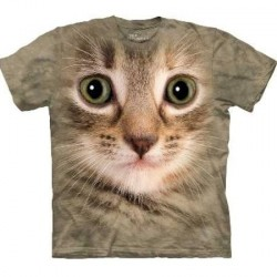 Tee shirt Chat - Kitten Face